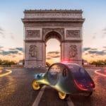 Ciroen eCV TAXI Parisien