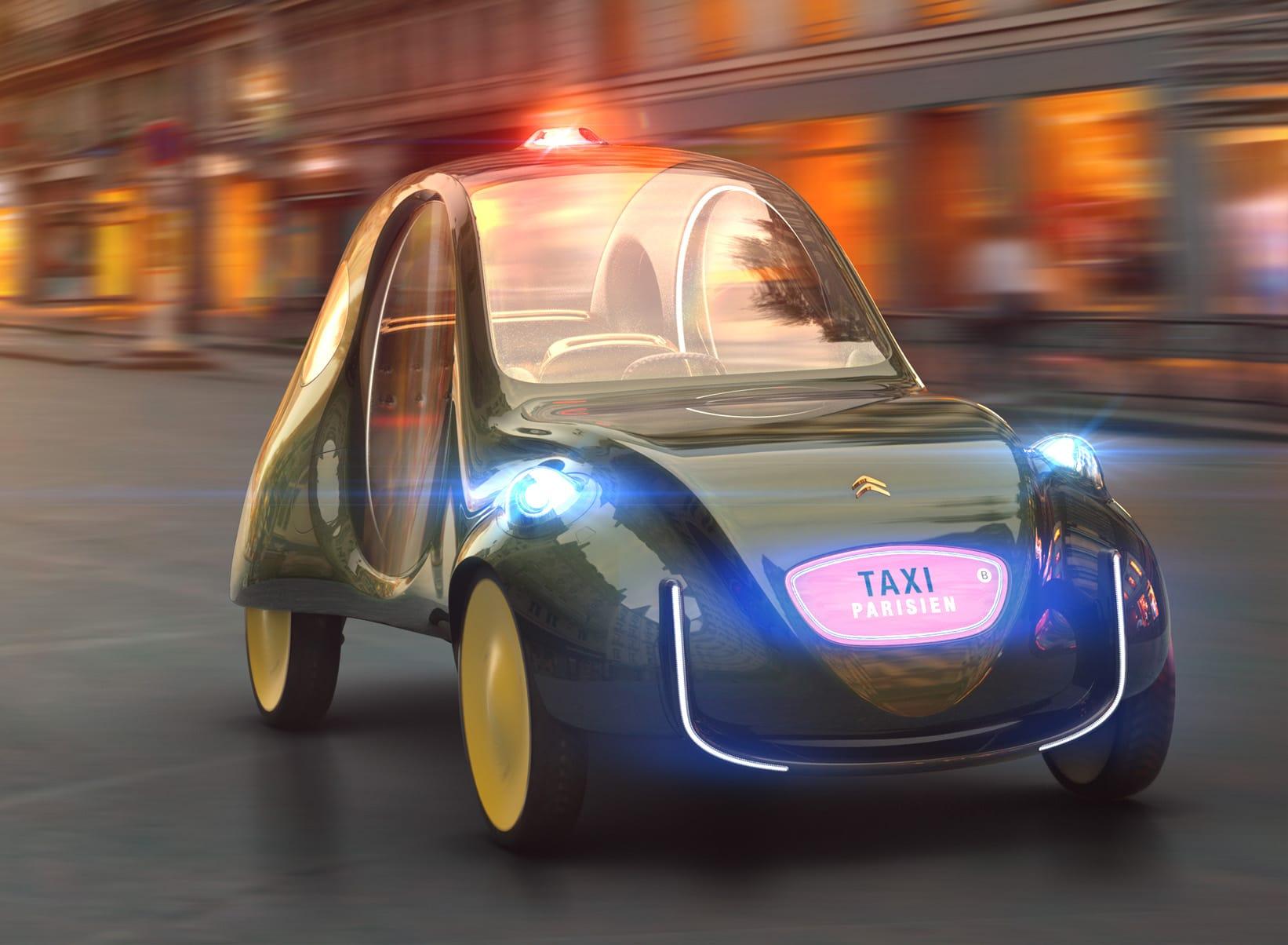 Citroen taxi eCV