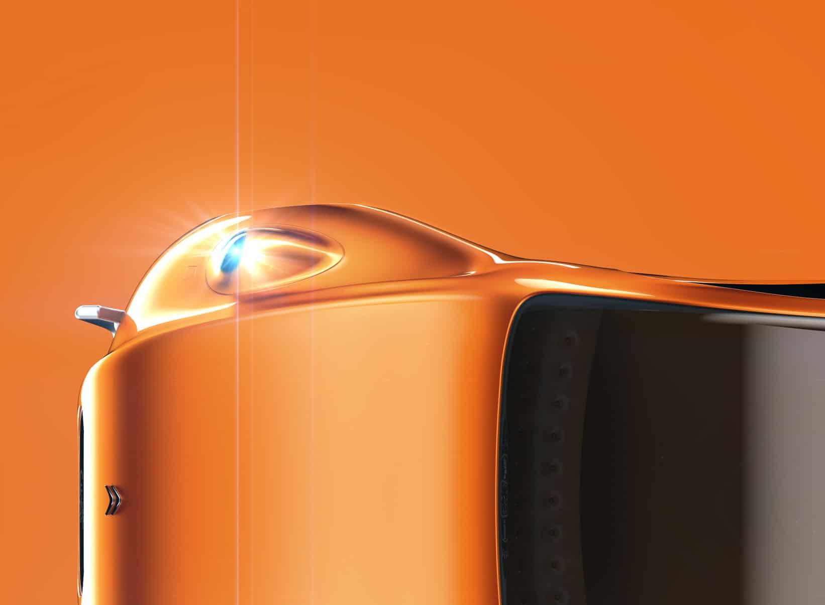 Citroen eCV concept car