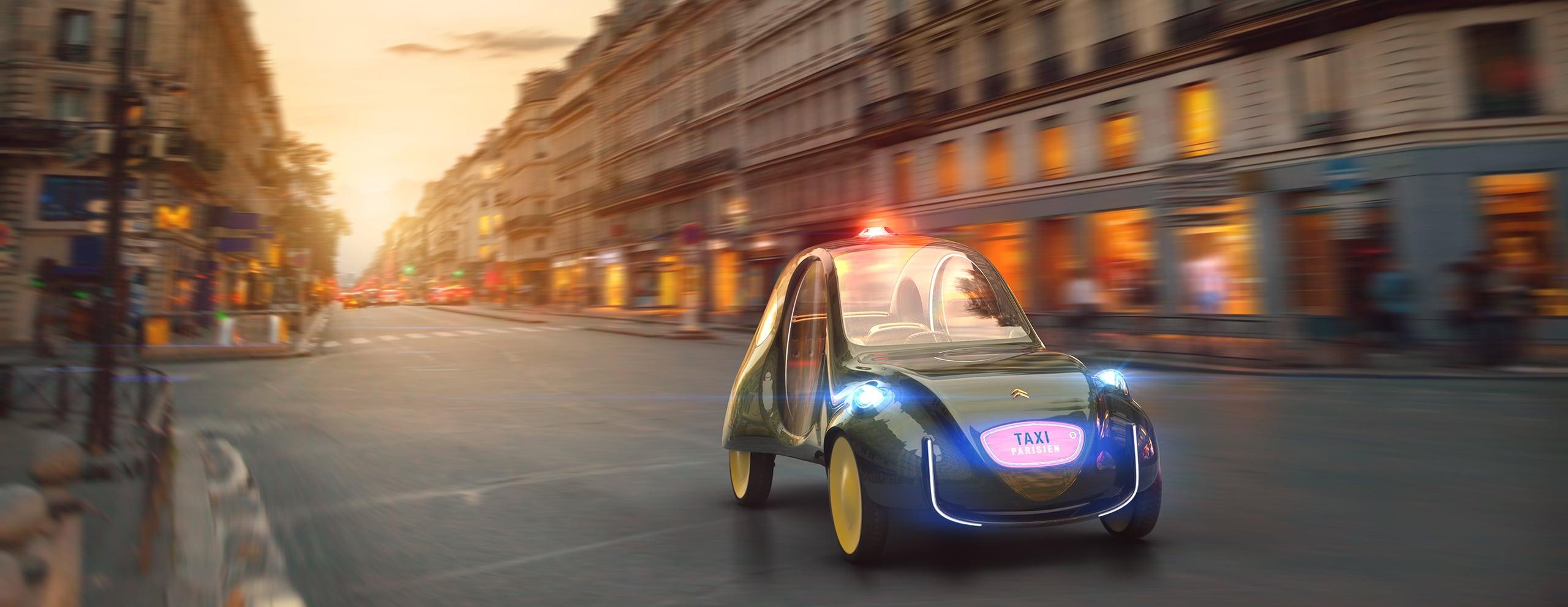 Citroen eCV Taxi Parisien