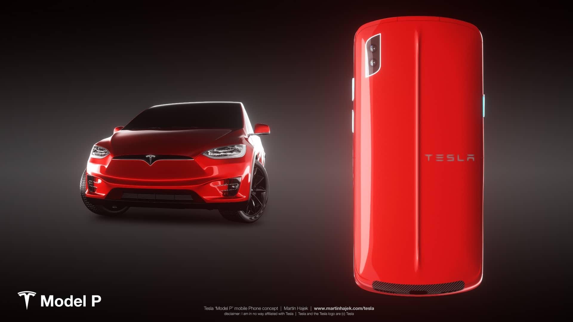 Tesla Model P concept