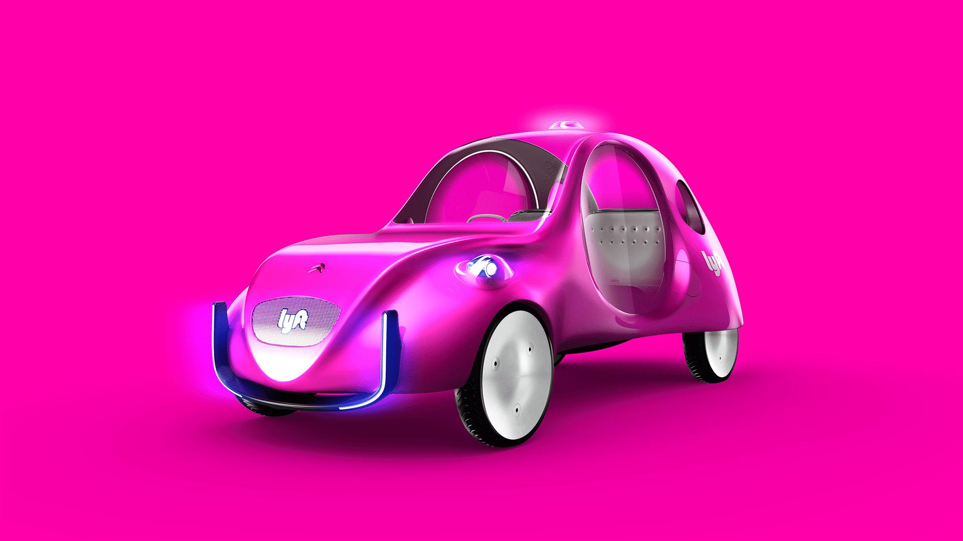 Lyft Citroen eCV taxi concept