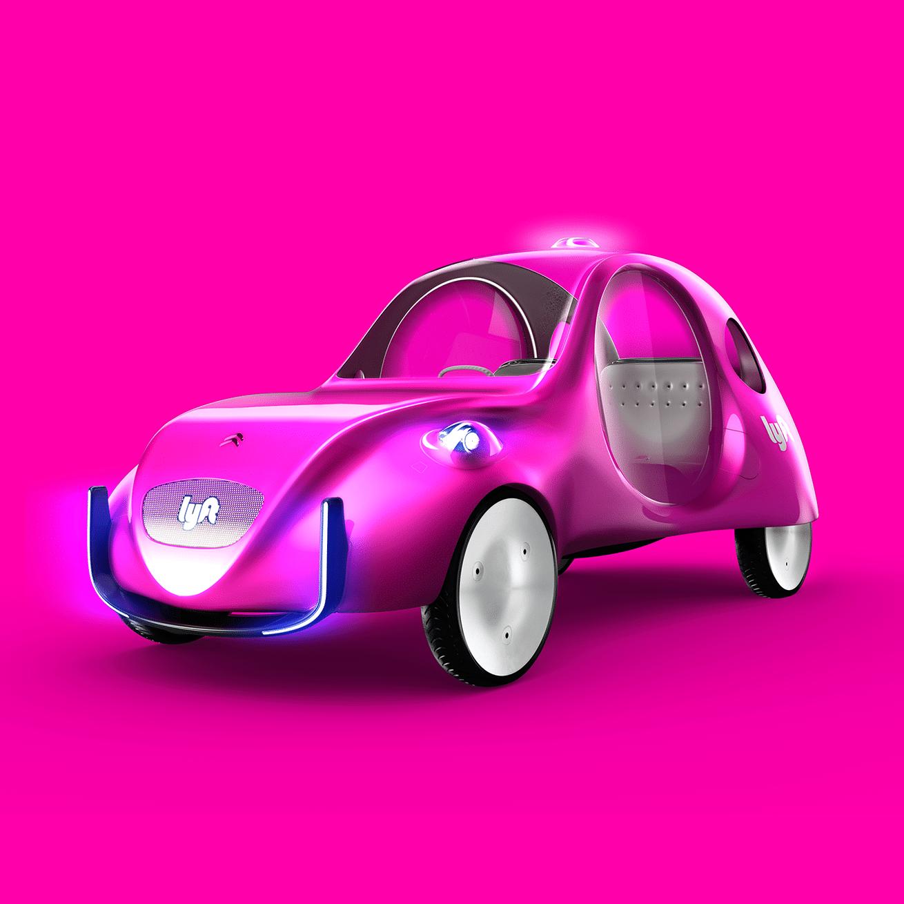 Lyft Citroën eCV concept