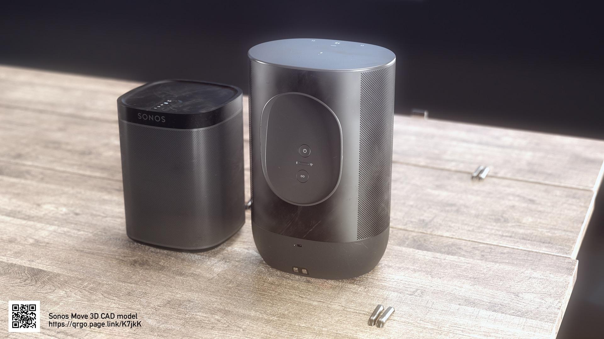 Sonos Move - 3D CAD model