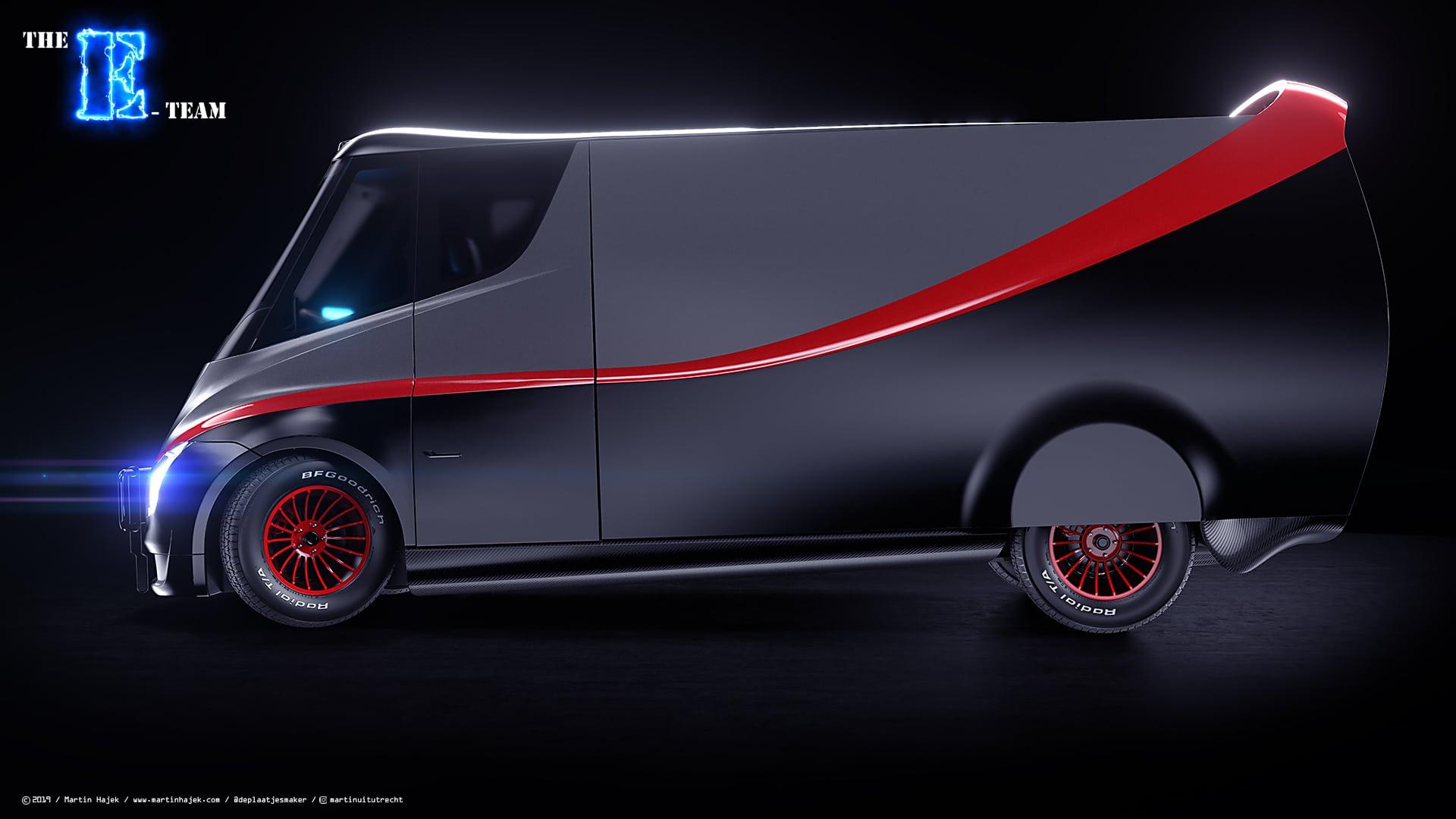 E-Team van concept by Martin Hajek / www.martinhajek.com