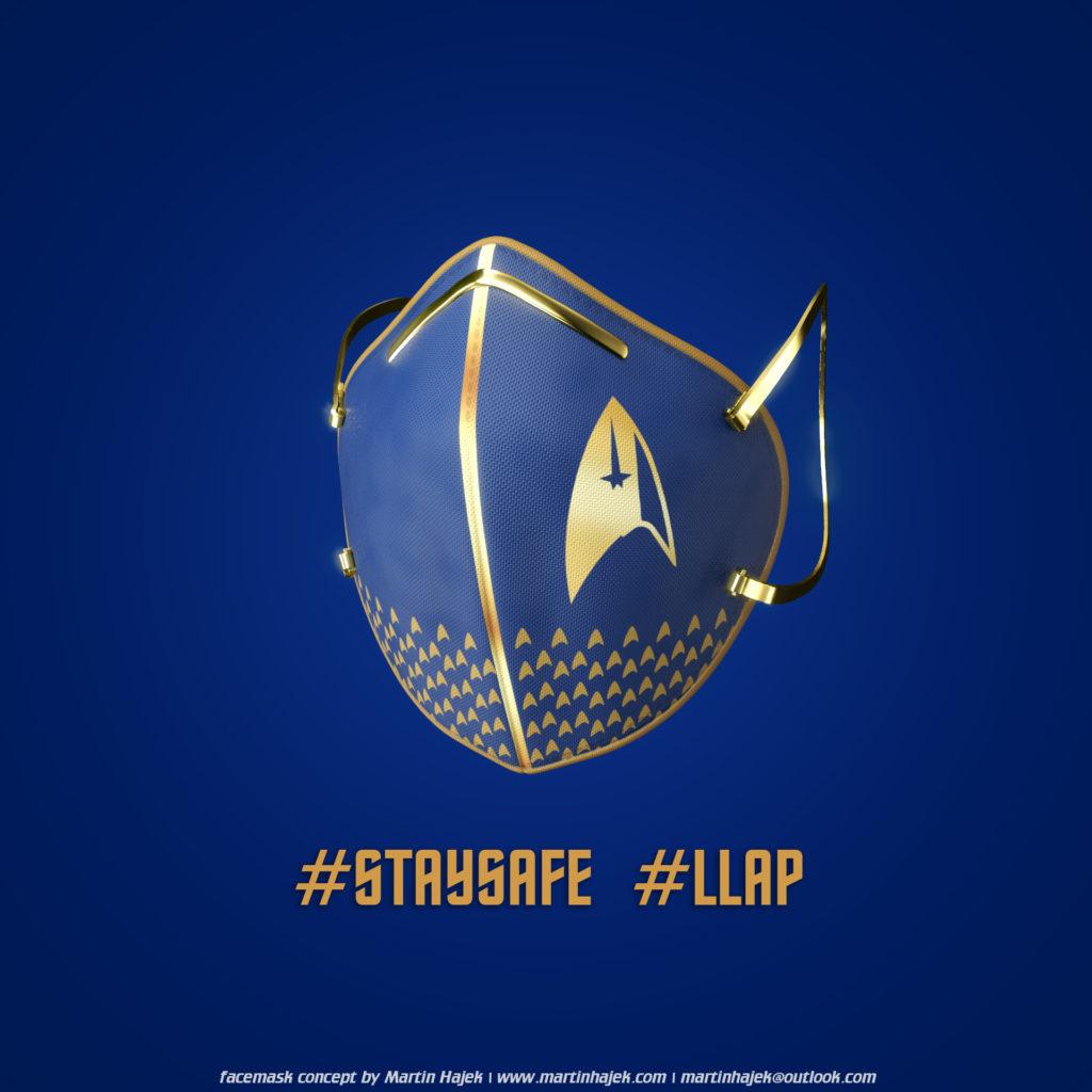 Star Trek face masks concept