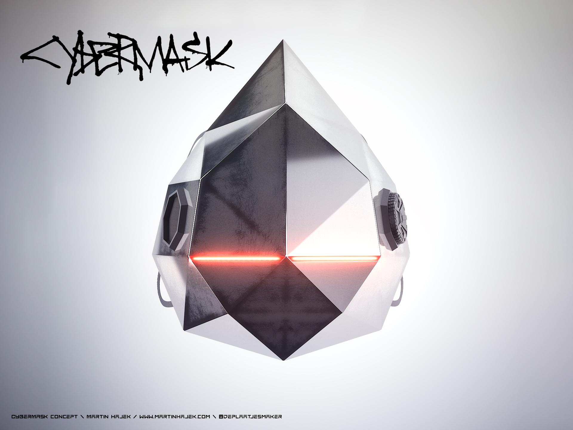 Tesla Cybermask concept